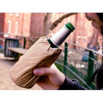 Охлаждающий пакет для бутылки