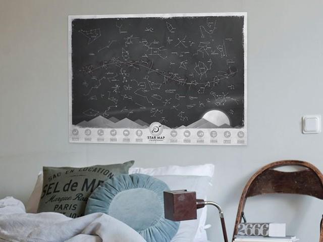 """Светящаяся карта """"Галактика"""""""