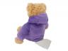 игрушка грелка мишка onesie фиолетовый