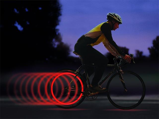 Диодный катафот на велосипед