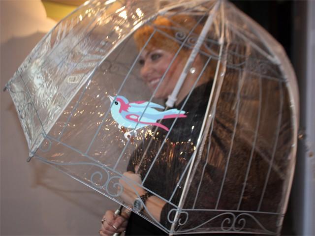 Зонт Lulu Guinness Birdcage