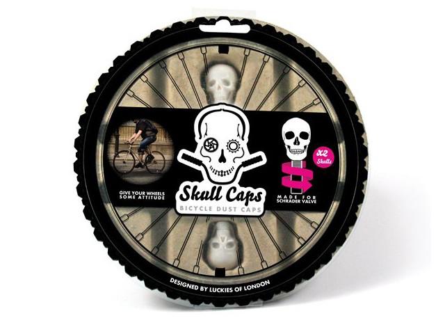 Колпачки на колесо Skull