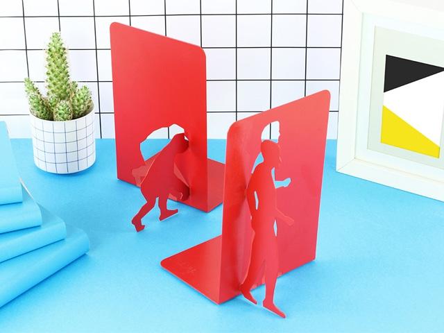 Стоппер для книг Эволюция красный