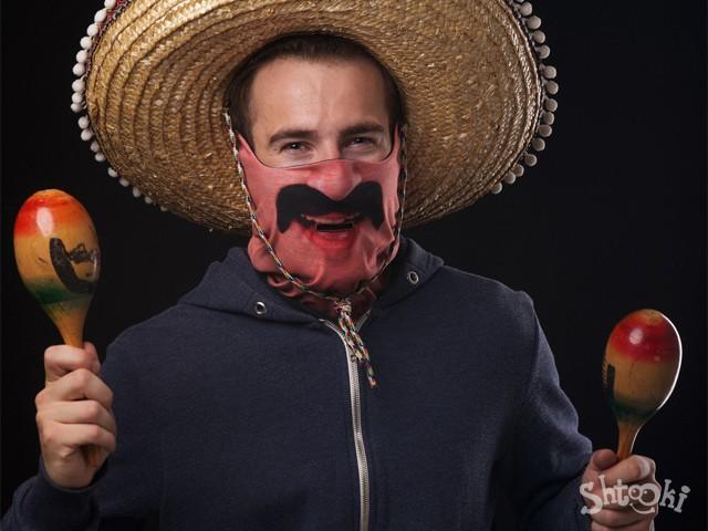 маска мексиканец