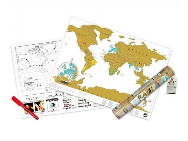 Карманная карта путешественника