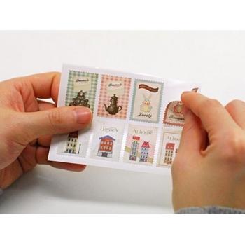 Наклейки-марки