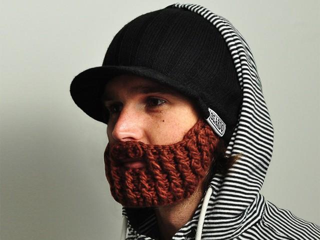 Шапка с бородой Rider