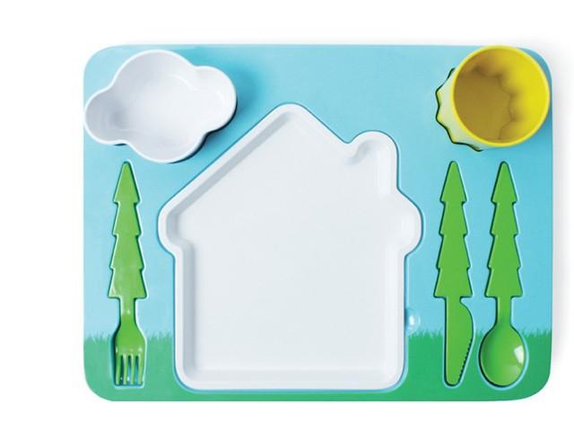 Набор детской посуды Landscape