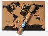 Пробковая карта мира недорого