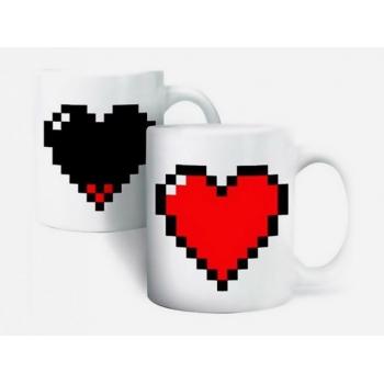 Кружка морф Heart