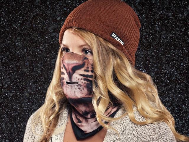Лыжная маска Leopard