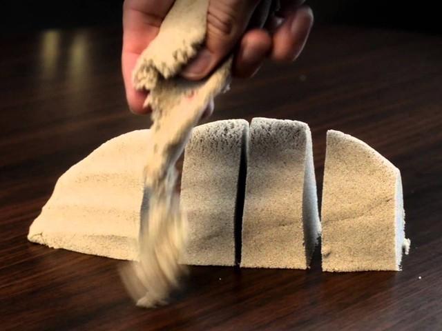 живой песок для детей