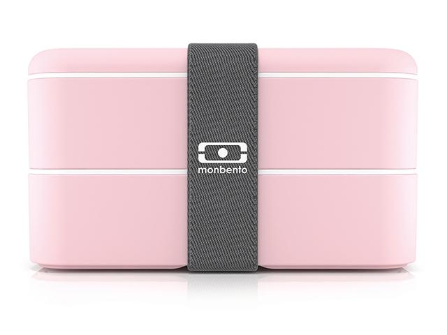 Ланч бокс Monbento розовый