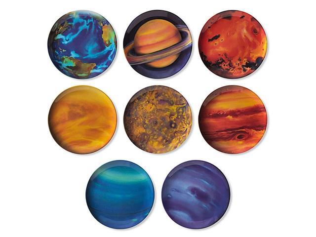 Набор тарелок Планеты