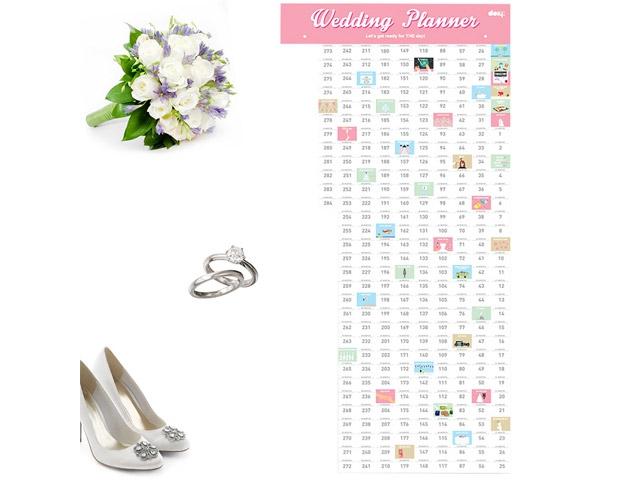 Календарь Wedding planner