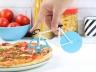 Нож для пиццы Fixie голубой