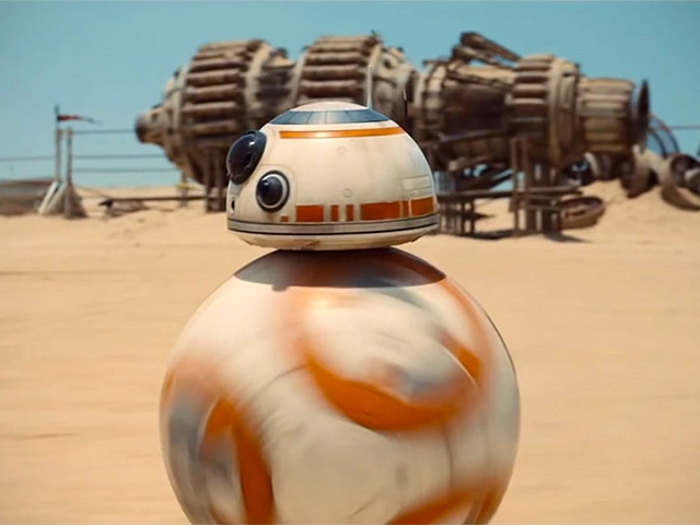 BB 8 Droid shtooki