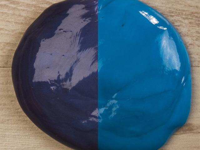 Пластилин меняющий цвет сумерки
