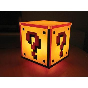 Question Block Lamp