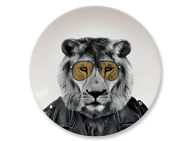 Тарелки Wild Dining лев