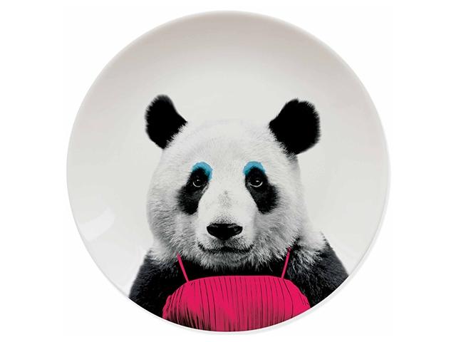 Тарелки Wild Dining панда