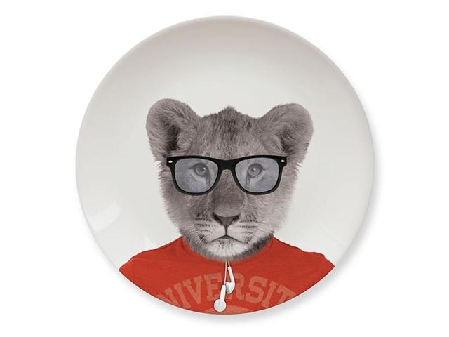 Тарелки Wild Dining львенок