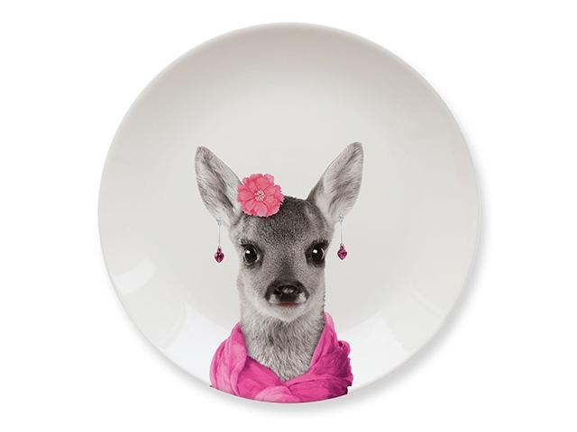 Тарелки Wild Dining олененок