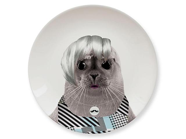 Тарелки Wild Dining морской котик