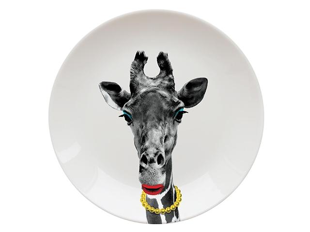 Тарелки Wild Dining жирафиха