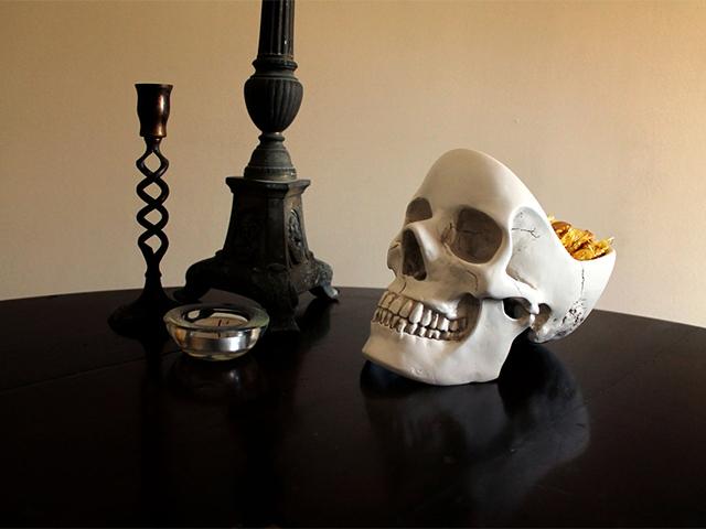 Органайзер Skull в интерьере