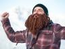 Beardo Viking в горах