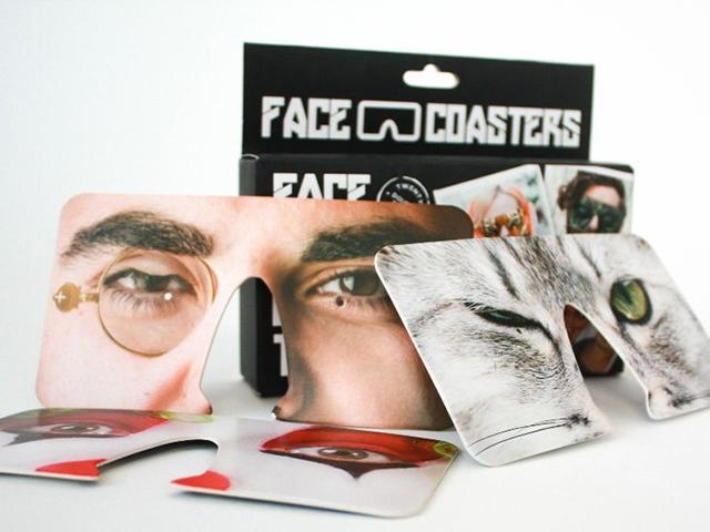 Face coasters подставки для пива