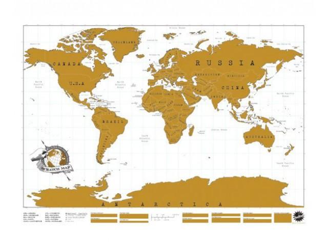 карта путешественника