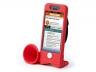 Велосипедный держатель Iphone 5 красный