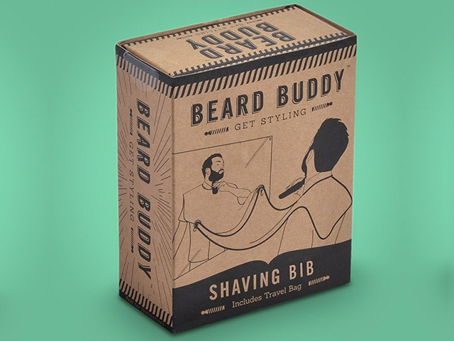 Beard Buddy фартук для бритья 2