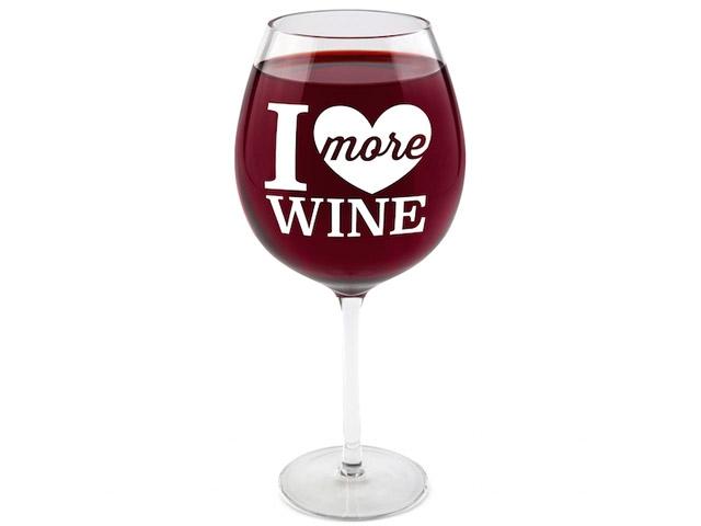 Бокал I love Wine