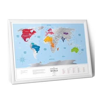 Карта мира Silver
