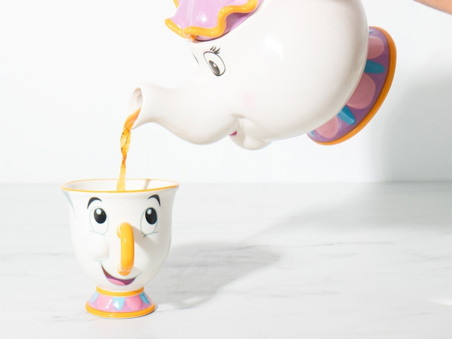Чайник Mrs Potts из красавицы и чудовища