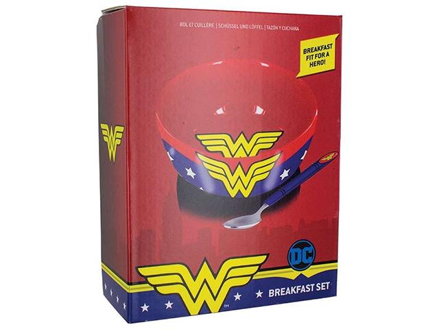 Набор для завтрака Wonder Woman упаковка