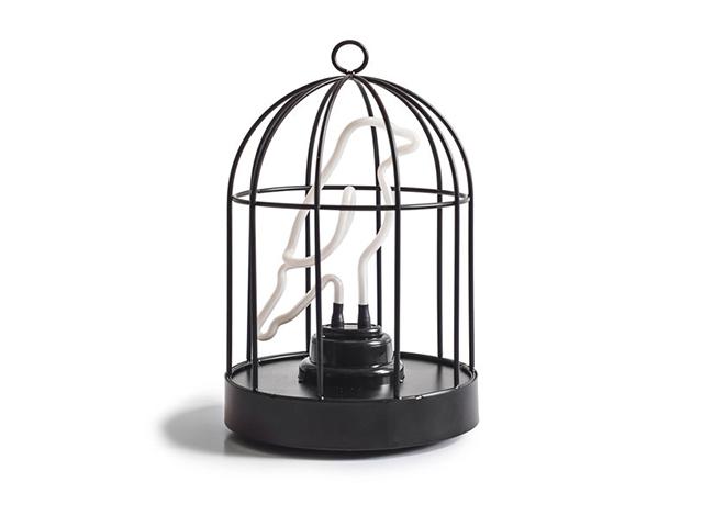 Светильник птица в клетке