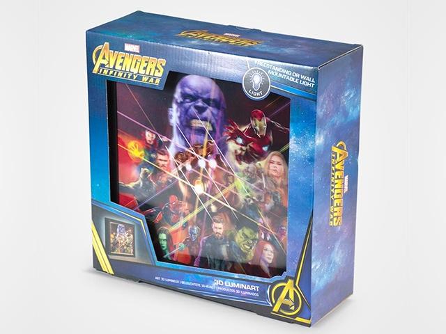 Картина Infinity War упаковка
