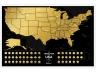 Скретч карта США номер раз