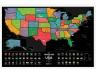 Скретч карта США номер два