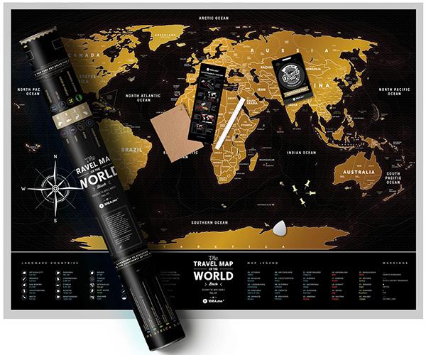 travel map black комплект