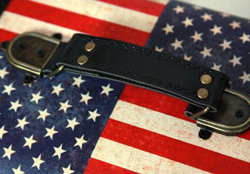 шкатулка деревянная американский флаг