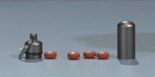капсула для денег и таблеток