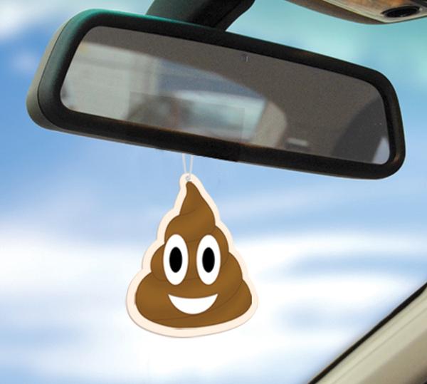 освежитель в авто какашка