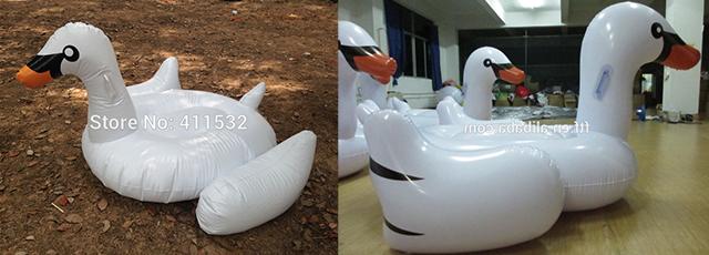 пример неудачного копирования лебедя