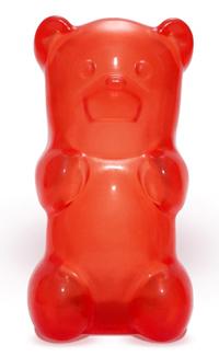 настольная лампа ночник gummy bear