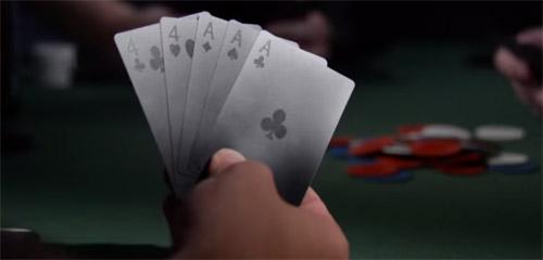 игральные карты черные